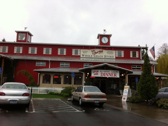 This is the home of Bob's Red Mill