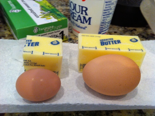 Newbie eggs are a bit smaller than the more.... sophisticated egg layers!