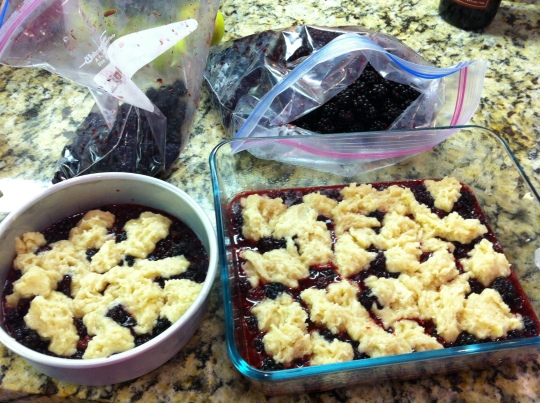 Blackberry Cobbler!!!