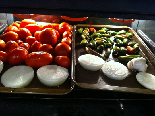 Roasting the Veggies