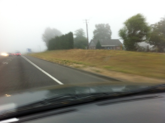 "Oregon ""Tule Fog"" Sept. 2014"