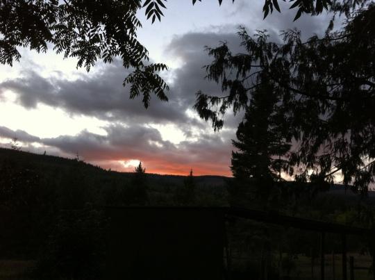 September Sunset 2014