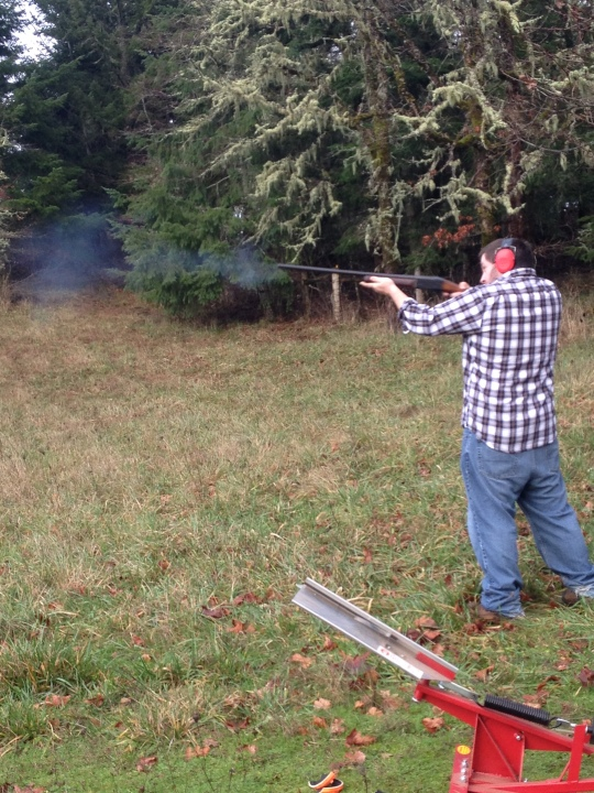 Christmas Day Skeet Shooting 2014