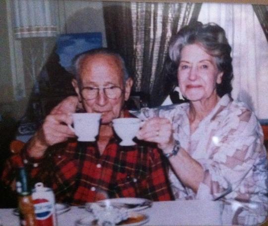 Grandma & Grandpa 1987
