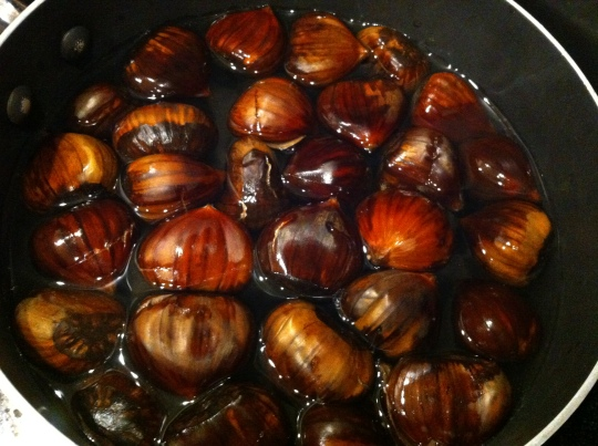 Beautiful chestnuts!