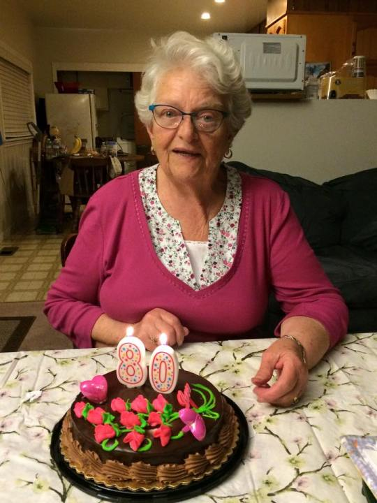 ...turned a fabulous 80 years old this month.  Happy Birthday to my beautiful Mother-in-law!